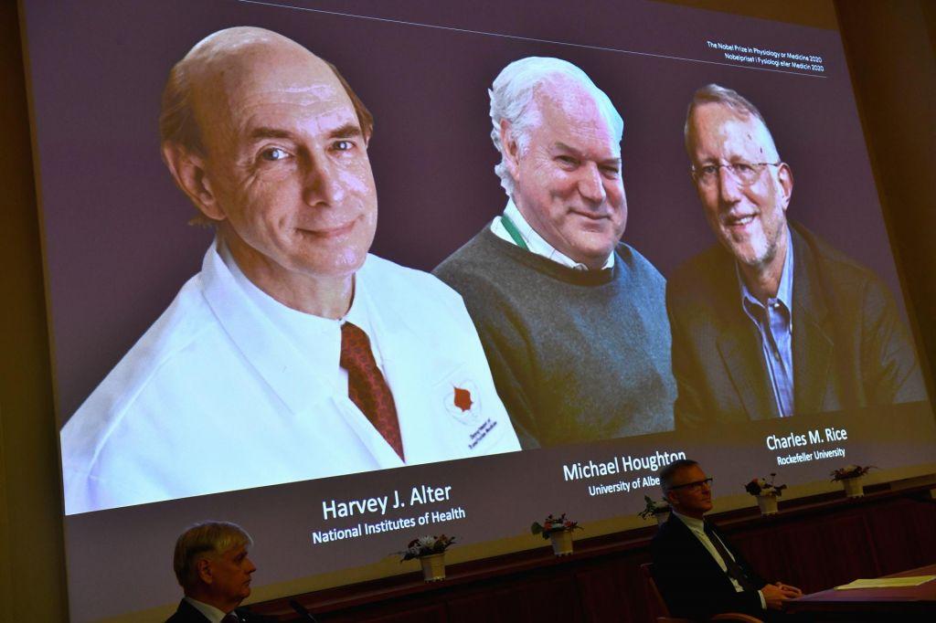 Nobelovo nagrado dobijo znanstveniki za odkritje virusa hepatitisa C
