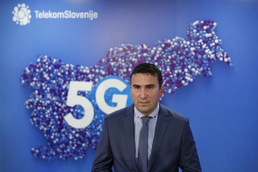 FOTO:Od danes 5G na voljo uporabnikom Telekoma Slovenije