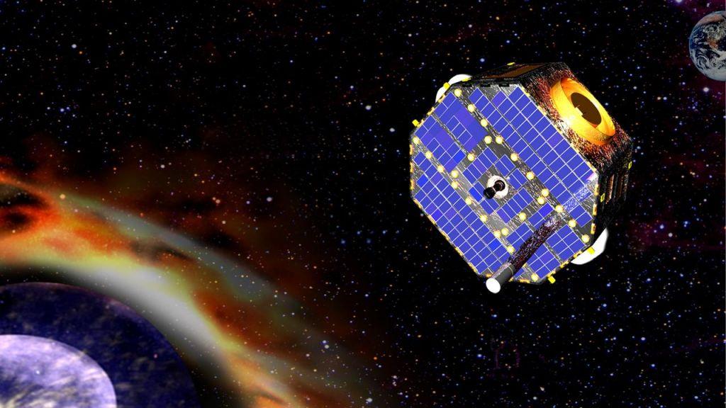 Sonda, ki raziskuje meje osončja