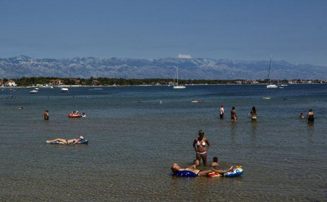 Otok Vir je še posebej priljubljen med hrvaškimi turisti, kažejo septembrski podatki. FOTO: Voranc Vogel/Delo
