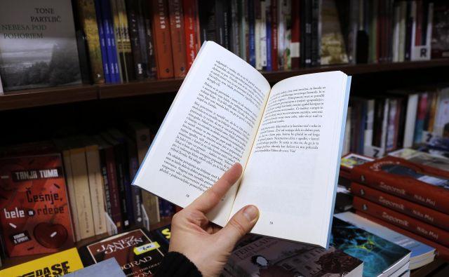 Predlog o ukinitvi zakona o enotni ceni knjige vzbuja začudenje.Foto Blaž Samec