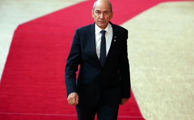 Premier Janez Janša. FOTO: Francisco Seco/AFP