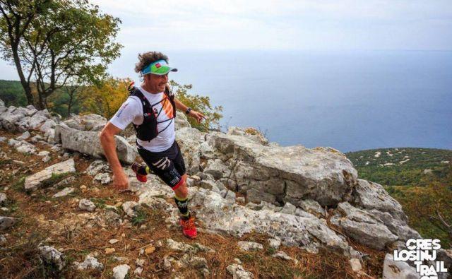 Pripravite se na adrenalinski vikend na Kvarnerju, ko bo potekal po otoku Cresu in Lošinju. FOTO: Cres&Lošinj trail