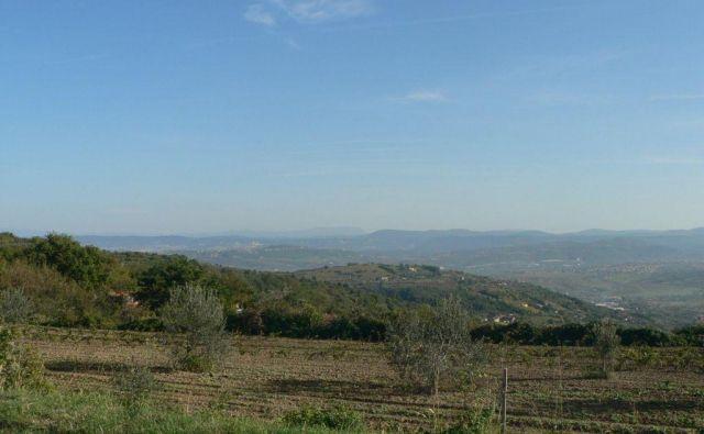 Koprska občina prodaja tudi nepozidana stavbna zemljišča v zaledju. FOTO: Mestna Oibčina Koper