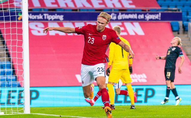 Na štadionu Ullevaal v Oslu bo Norveška z najvznemirljivejšim napadalcem na svetu Erlingom Brautom Håalandom gostila Srbijo. FOTO: Ntb Scanpix/Reuters