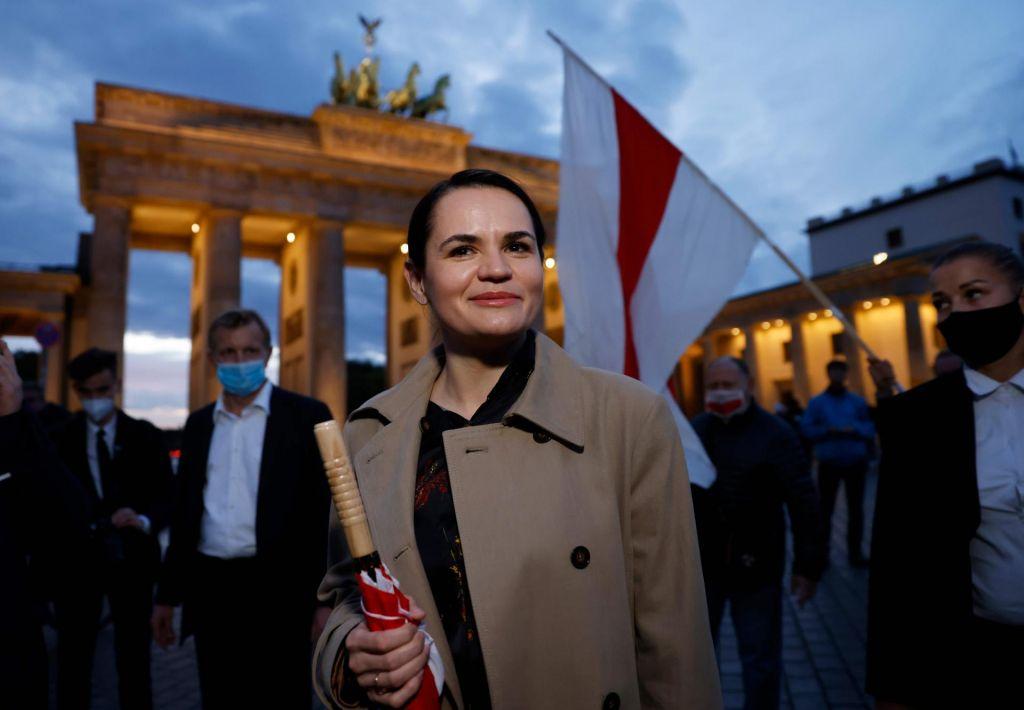 Svetlana Tihanovska pričakuje posredovanje Nemčije