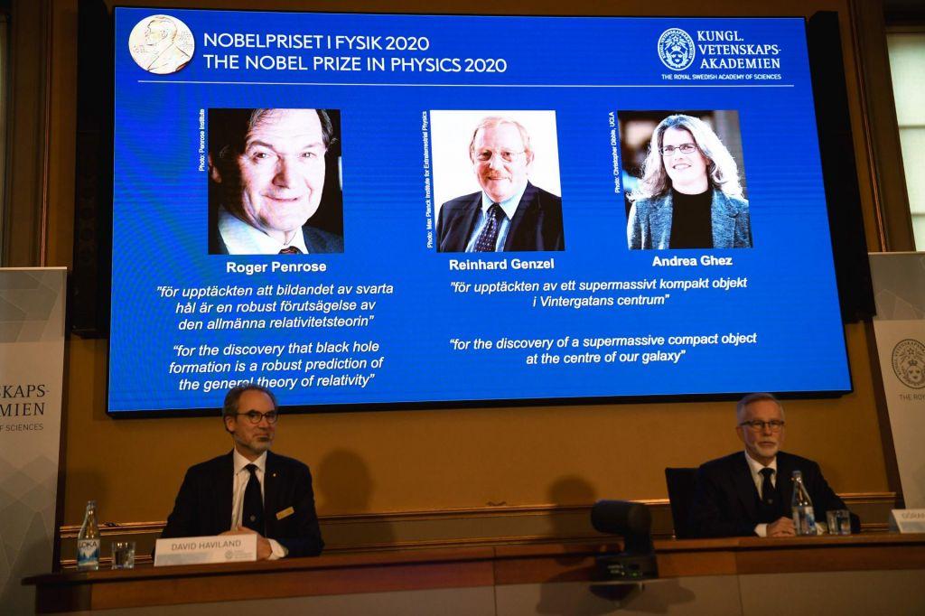 Nobelova nagrada za najtemnejše skrivnosti vesolja