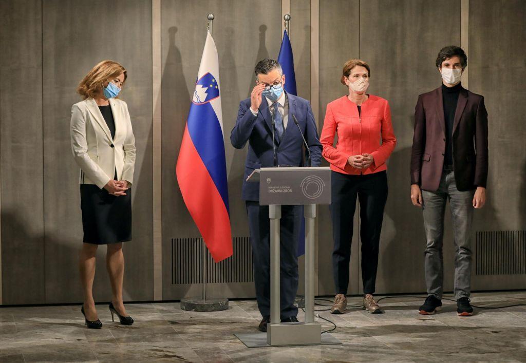 FOTO:Štiri stranke levice se zbližujejo