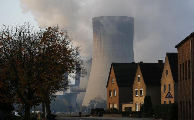 Znižanje izpustov za 55 odstotkov do leta 2030 v Bruslju vidijo kot velik korak na poti do podnebno nevtralne Evrope.<br /> FOTO: Ina Fassbender/Reuters