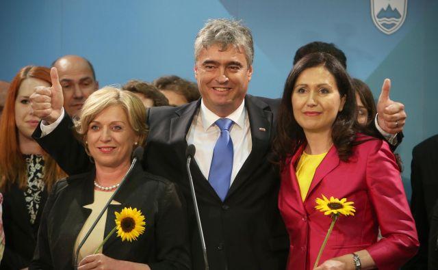 Romana Tomc (levo) in Milan Zver (v sredini) nad evropskim zavzemanjem za vladavino prava nista navdušena. FOTO: Jure Eržen/Delo