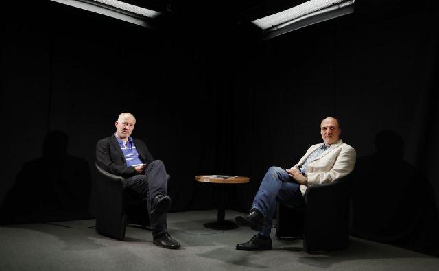 Ali Žerdin in Janez Markeš. FOTO: Leon Vidic/Delo
