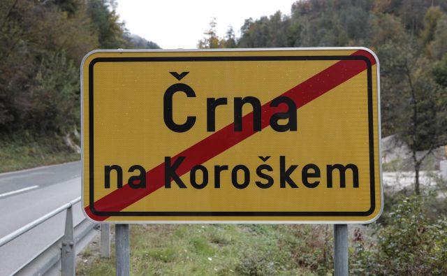 Črna na Koroškem. FOTO: Uroš Hočevar/Delo