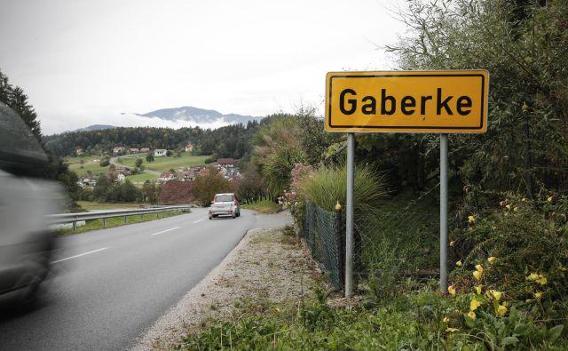 V Gaberkah bodo prihodnji teden začeli graditi tretjo razvojno osi. FOTO: Uroš Hočevar
