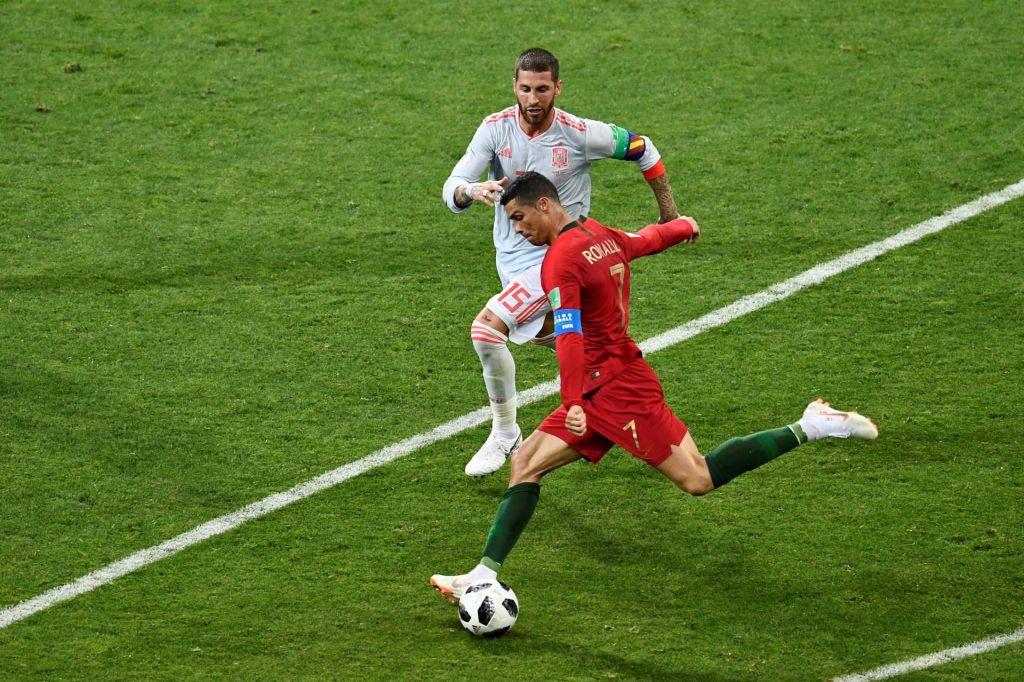 Cristiano Ronaldo in Sergio Ramos sta obšla drug drugega
