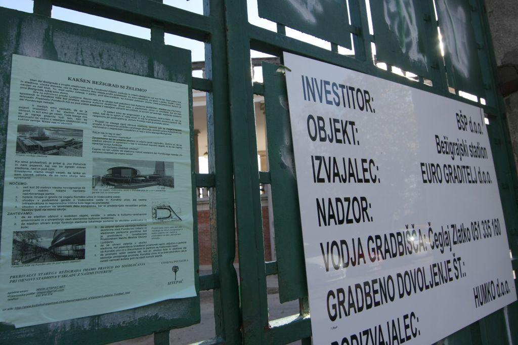 Pogodba se izteka: začetek obnove bežigrajskega stadiona ostaja negotov
