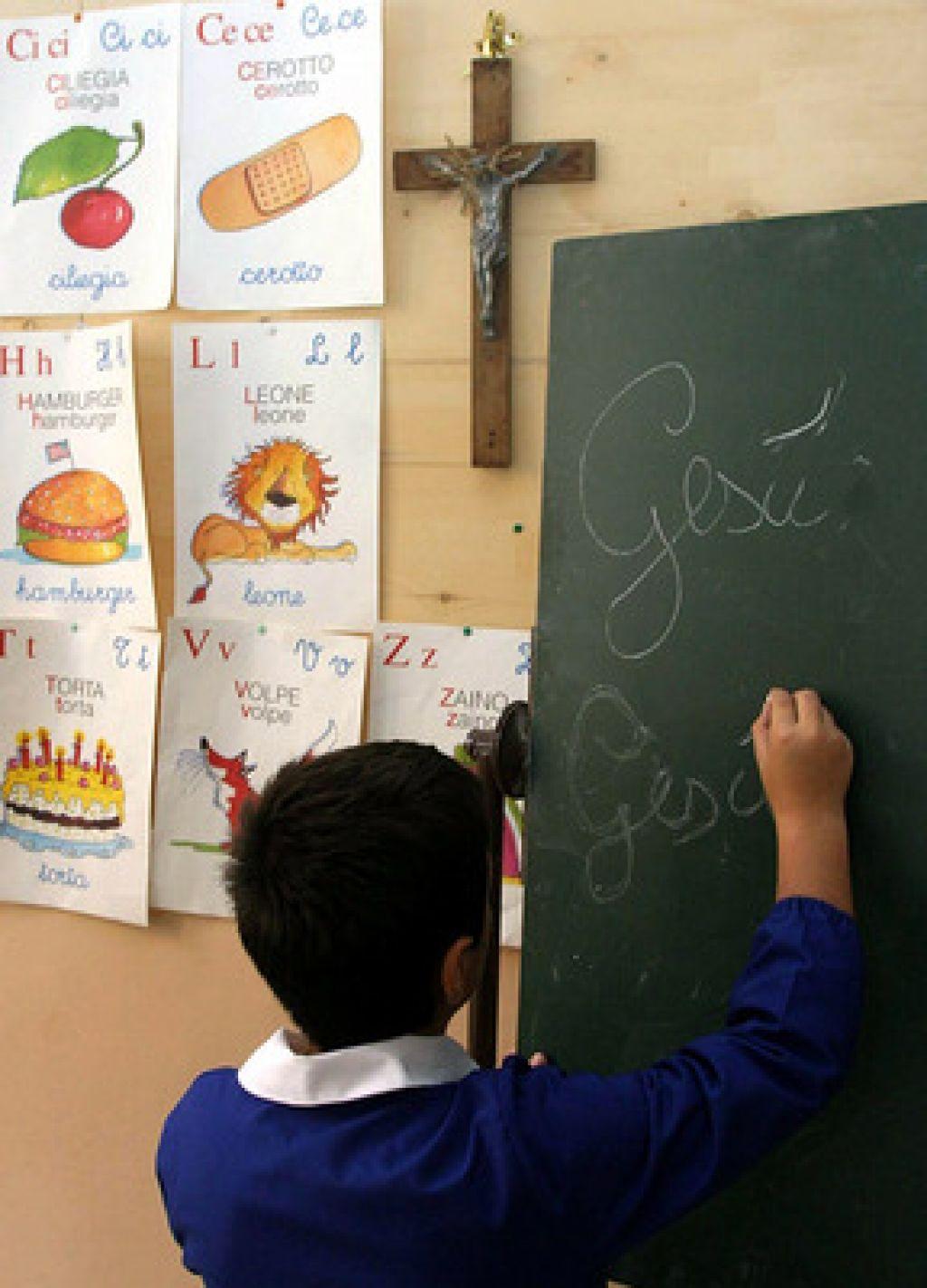 Italija proti prepovedi križev v učilnicah