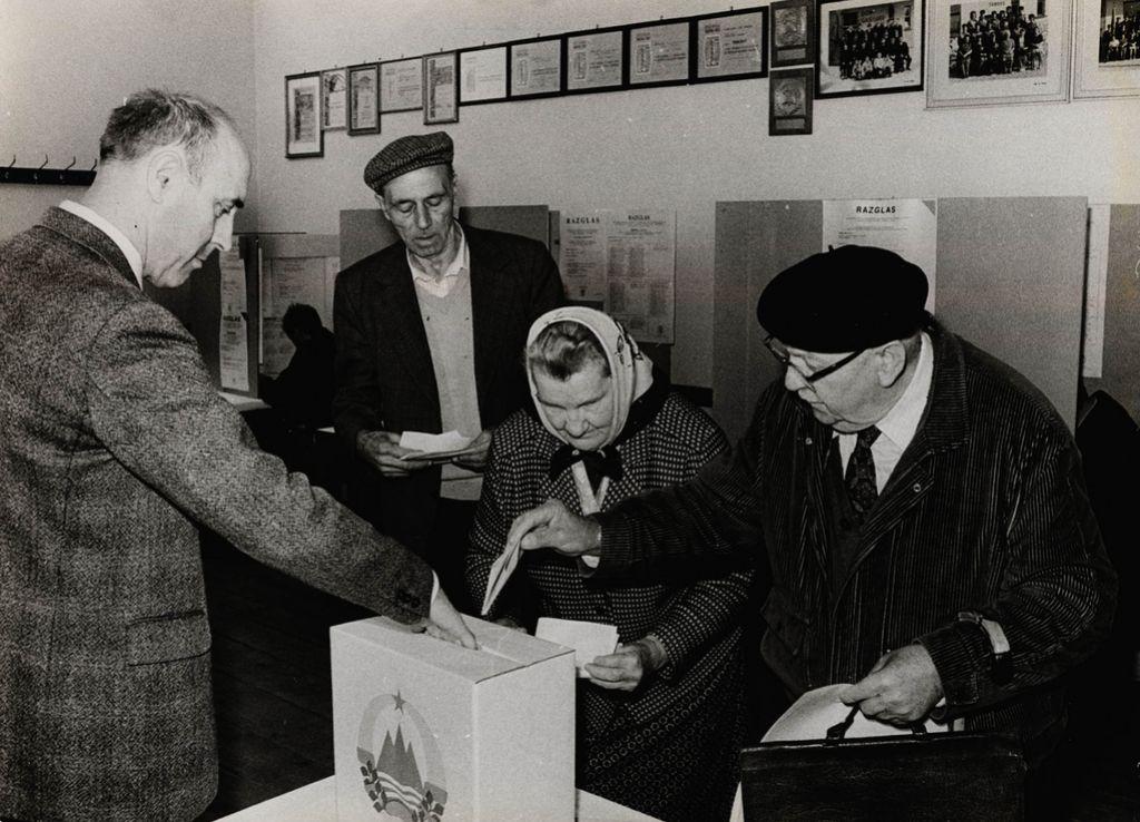 Prve demokratične volitve v Sloveniji