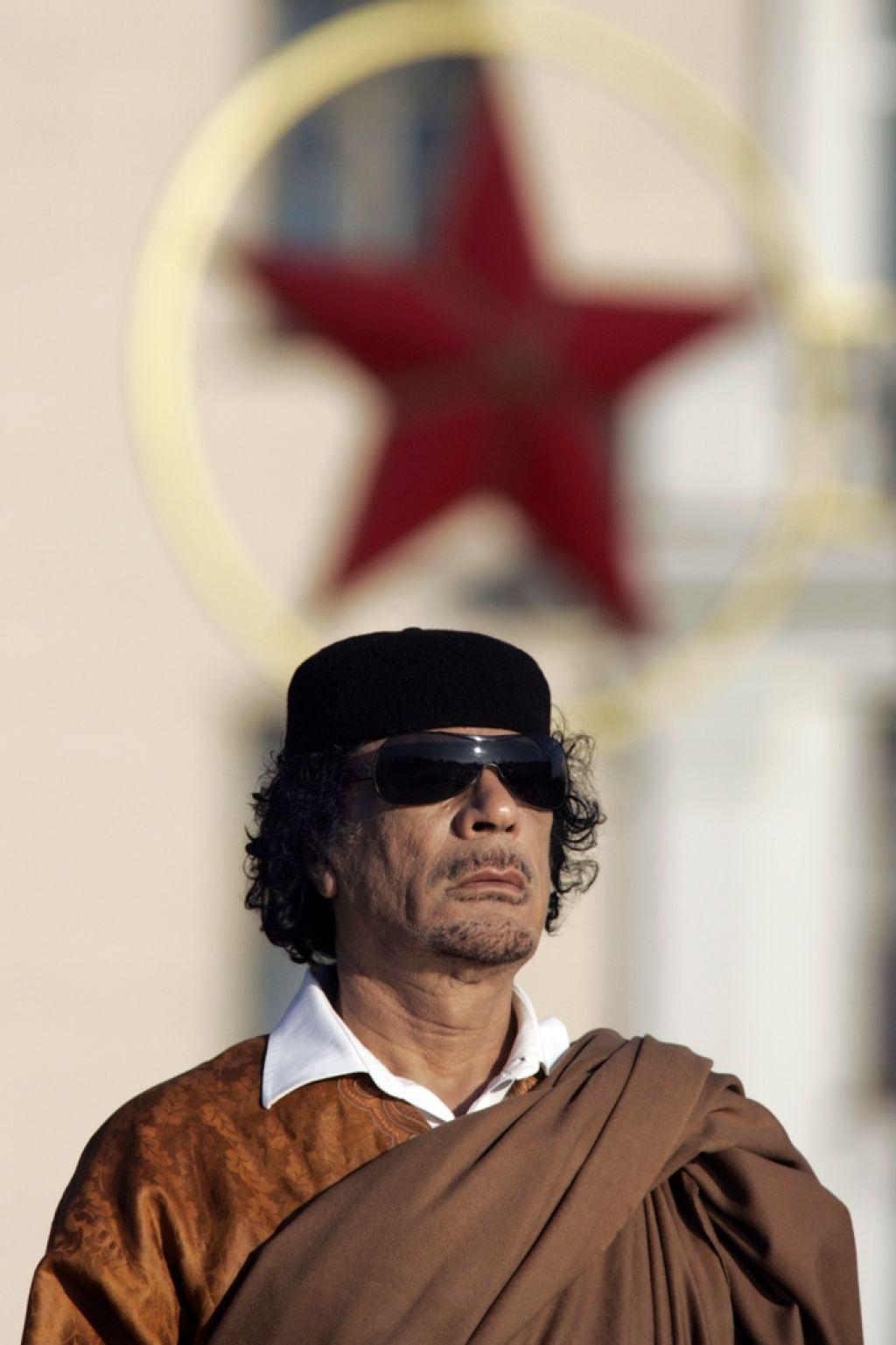 Moamer Gadafi: vojak in politik s poslanstvom