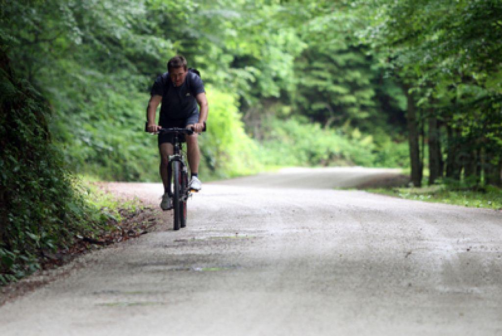 Planinci strpnejši do kolesarjev