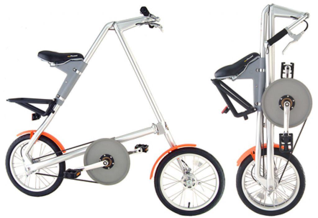 Zložljiva kolesa so doma v mestu