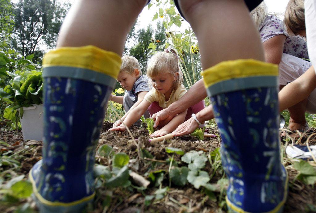 Vrt - učilnica za prihodnost