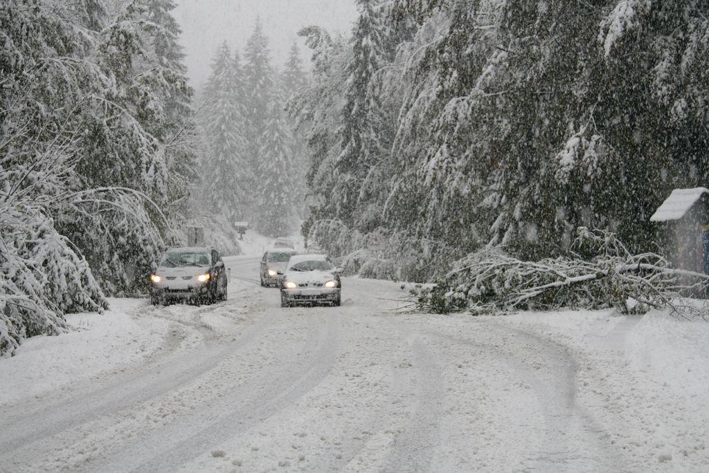 Na jugu države lahko zapade do pol metra snega