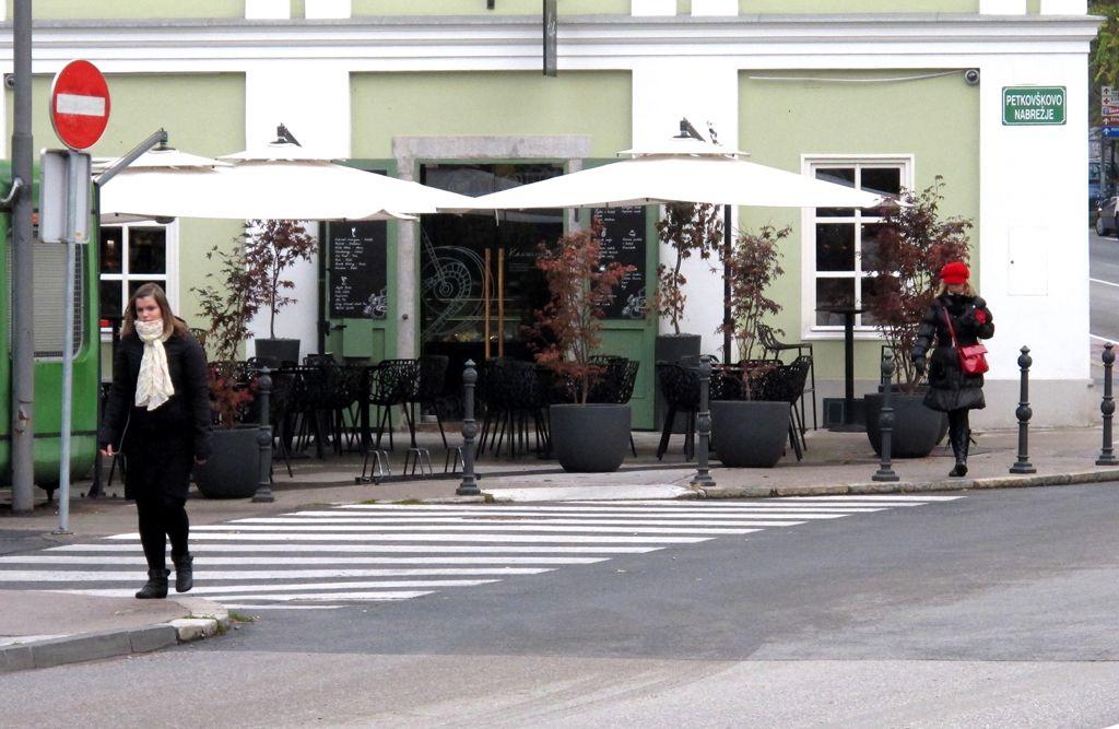 Mestni del Kavarne Rog na javni dražbi po napovedih kupila Meri Tošić