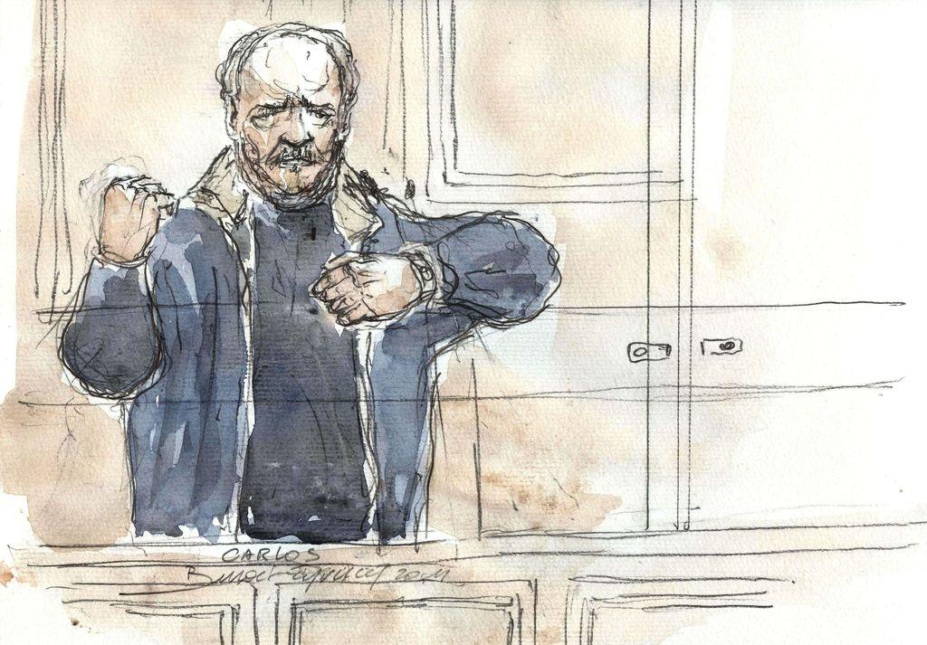 Carlos Šakal znova na sodišču