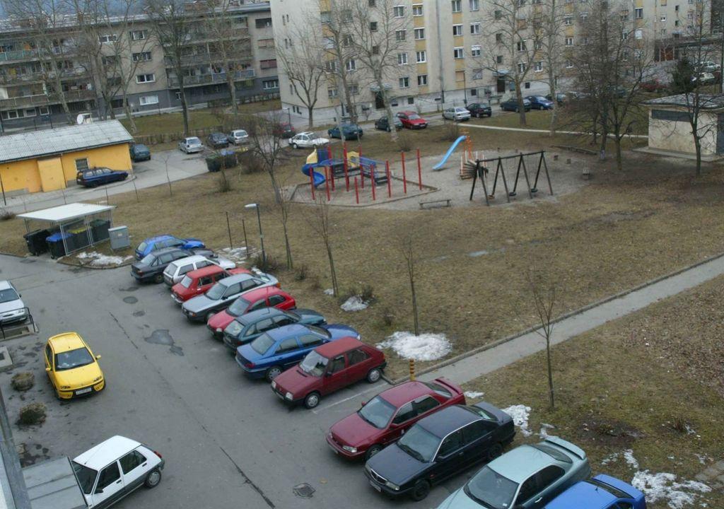 Ni potegavščina: Šiškarji ob parkirišča