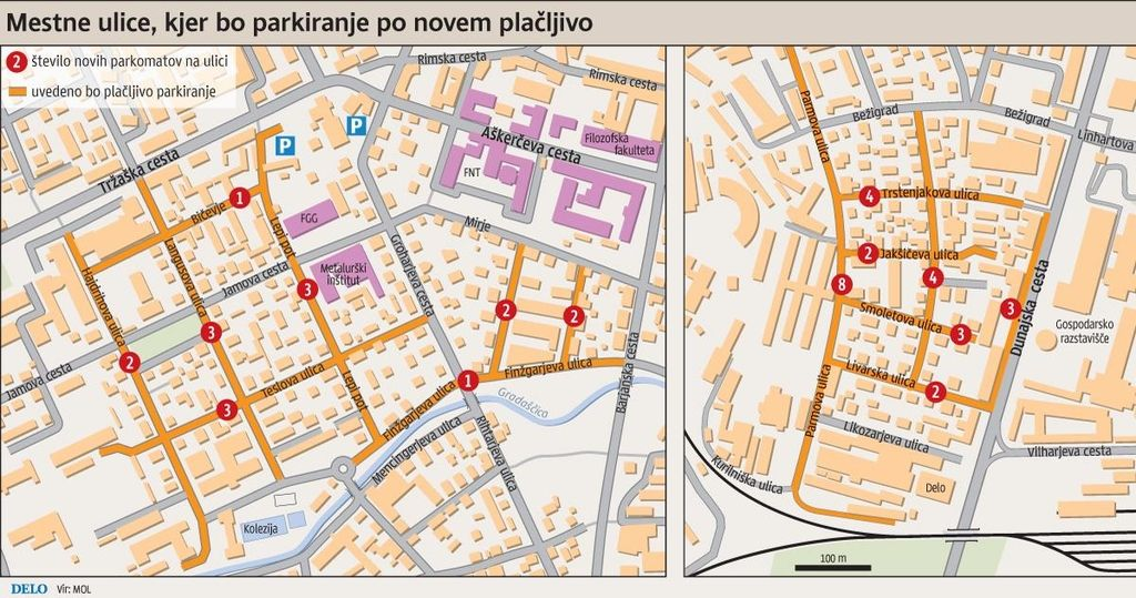Center za nadzor parkomatov bo občino stal 43.200 evrov