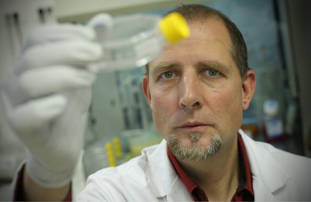 Gregor Majdič z matičnimi celicami zdravi živali in načrtuje nov zgodovinski roman