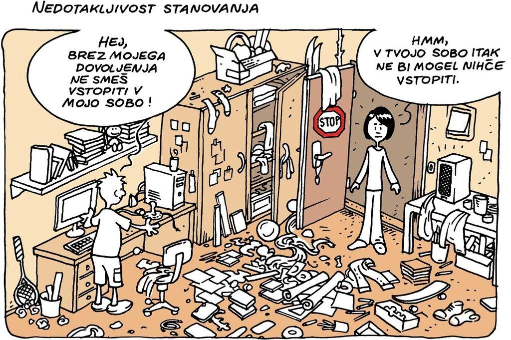 Generacija D: Slovenska ustava v stripu