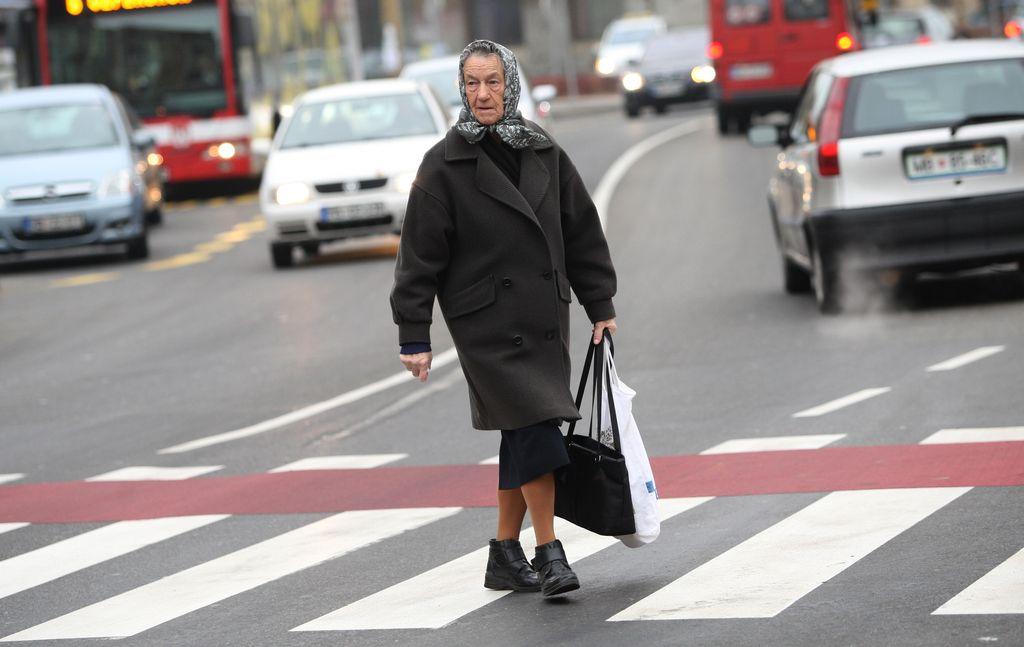Preverjanje mobilnosti v prometu za upokojence