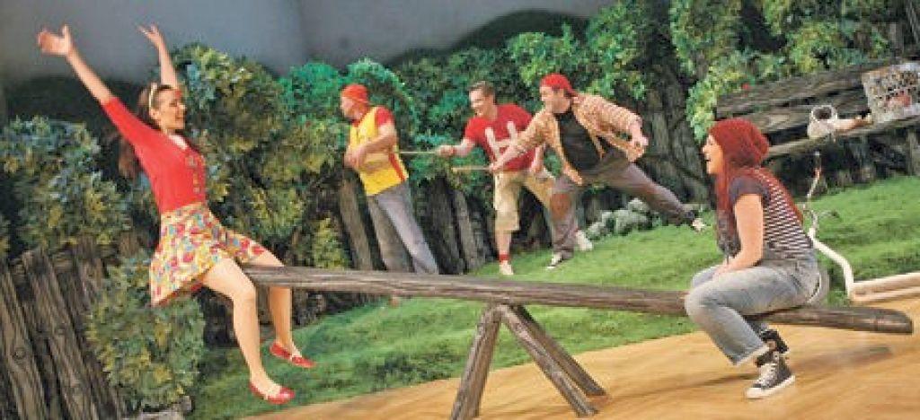 Premiera otroške opere Kdor upa, ne odneha