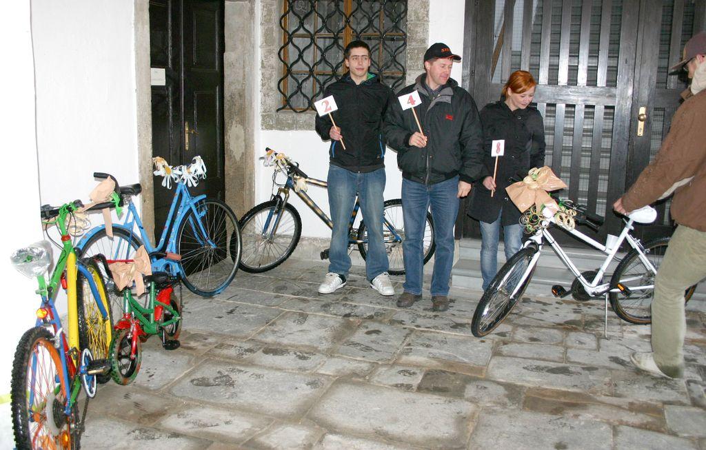 Dražba koles za dan Zemlje
