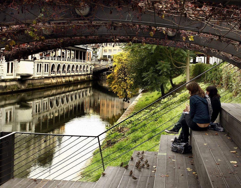 Ljubljana prejela evropsko nagrado za  preureditev nabrežij in mostov