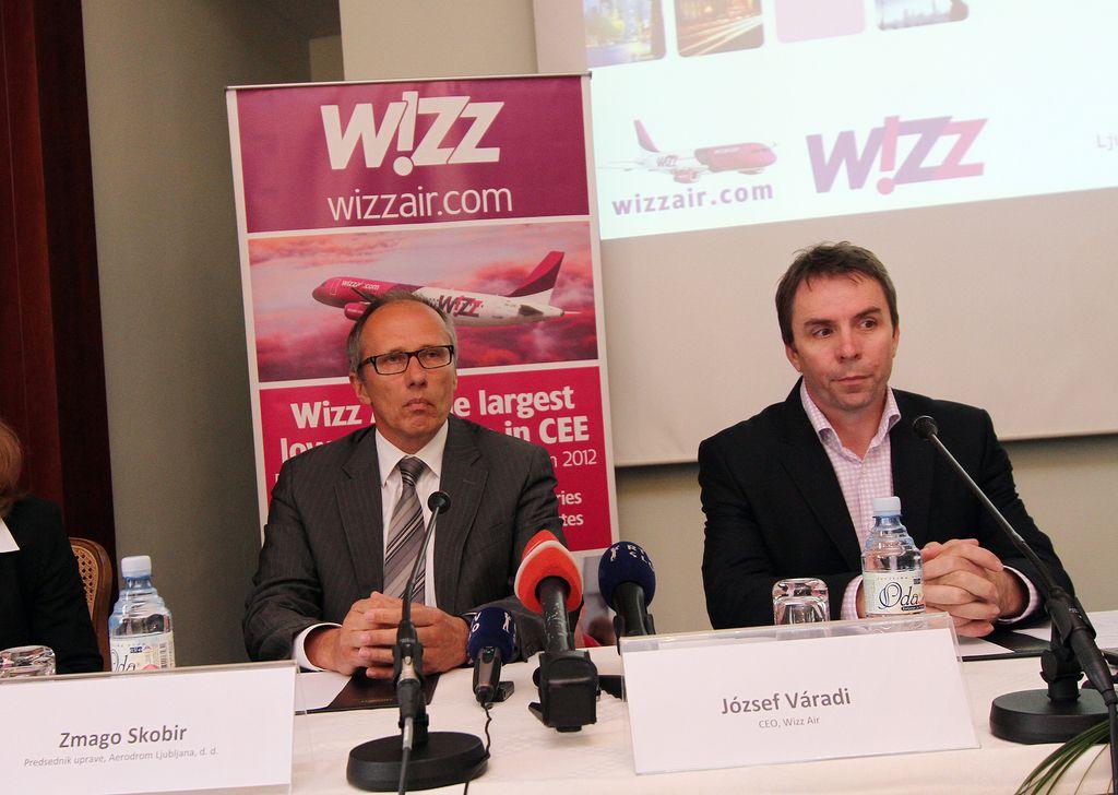 Wizz Air bo letel v Bruselj in London