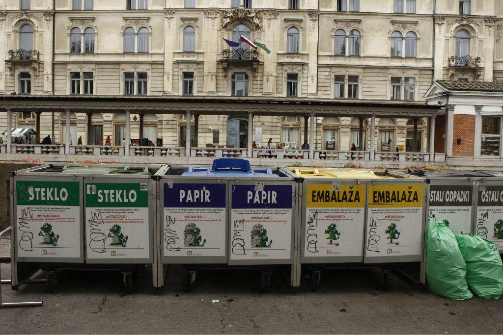S predelavo odpadkov ohranjamo naravne vire
