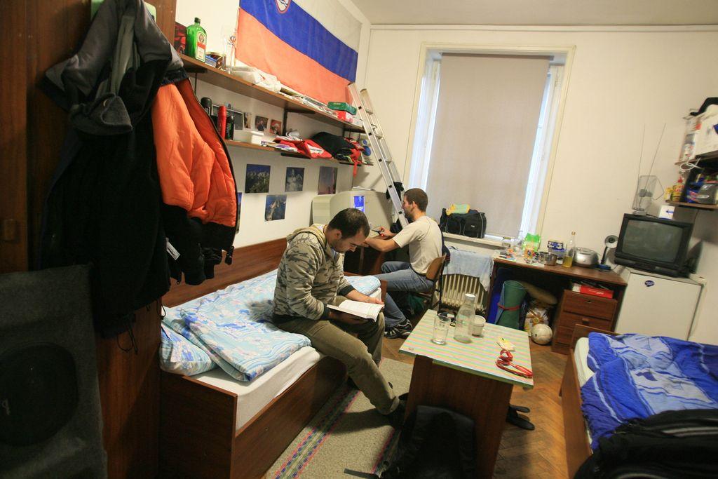 V Ljubljani bo veliko študentskih postelj praznih