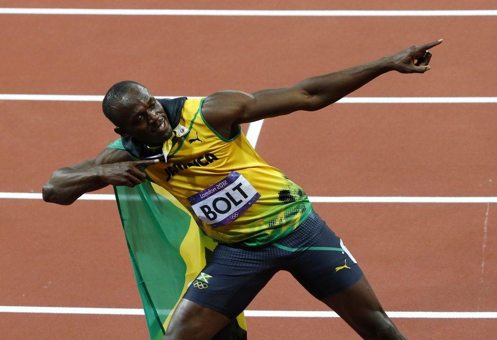 Usain Bolt teče za čustva, ne za denar