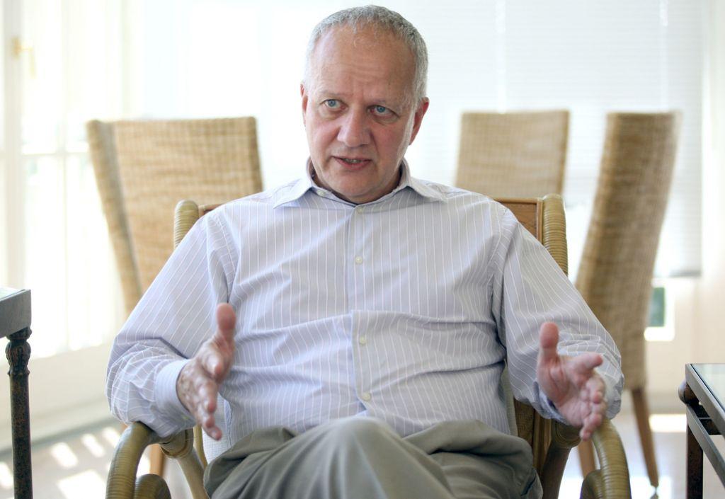 Veleposlanik Mussomeli: »Slovenci bi morali biti prizanesljivejši drug do drugega«