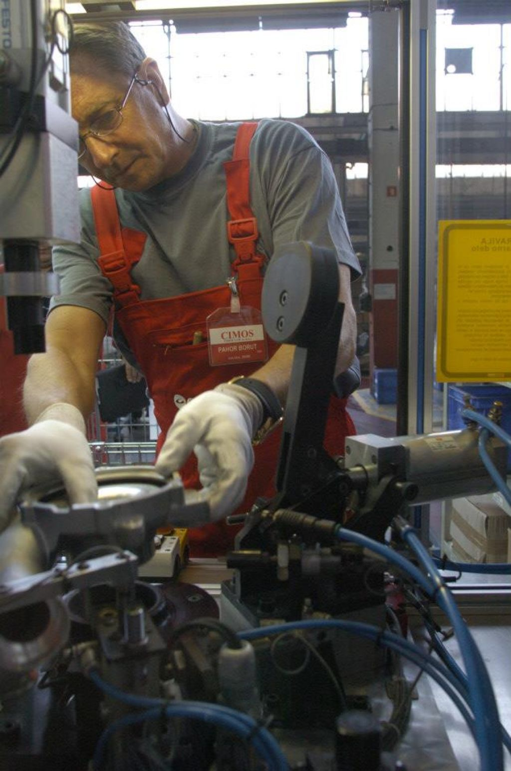 Pahor zna sestaviti turbokompresor