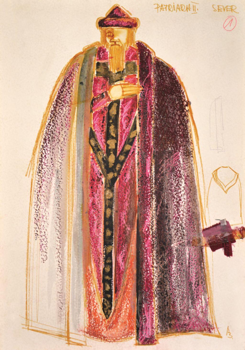 Kostumografka Alenka Bartl v muzeju V&A