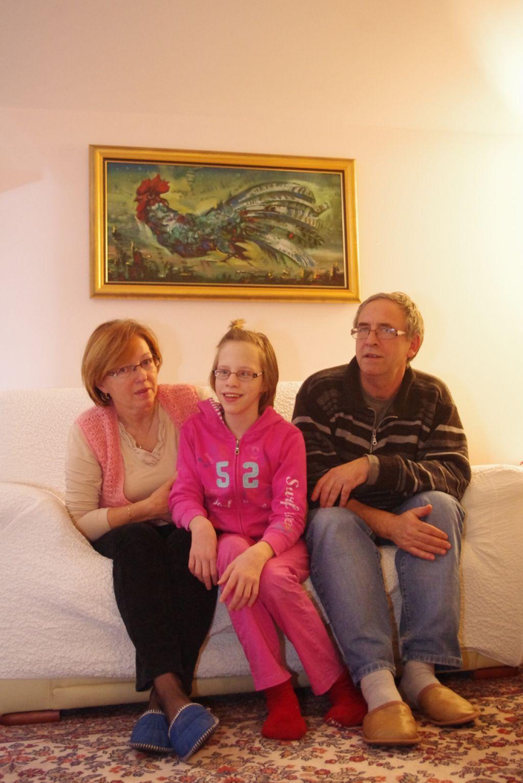 Junaška Nastja, deklica s cerebralno paralizo