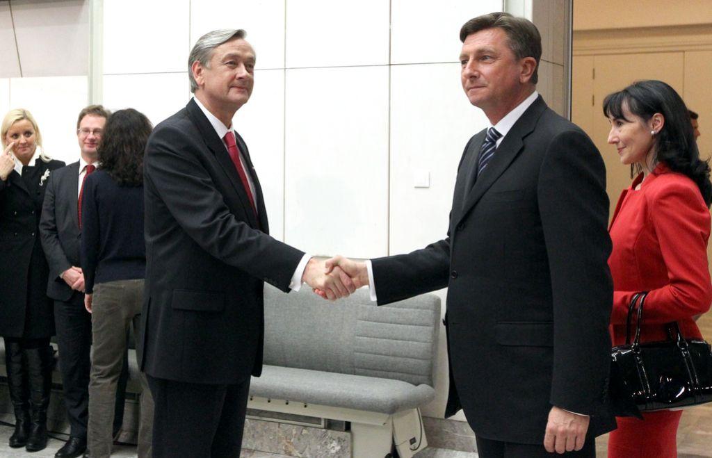 Pahor zmagal z več kot dvetretjinsko podporo