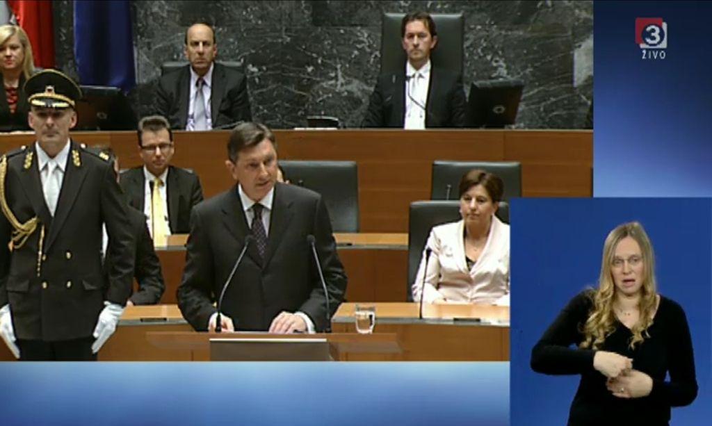 Pahor prisegel: »Sreča je na strani pogumnih.«