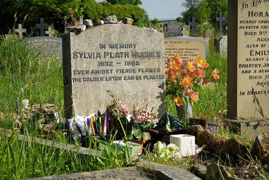 Dolga senca samomora Sylvie Plath