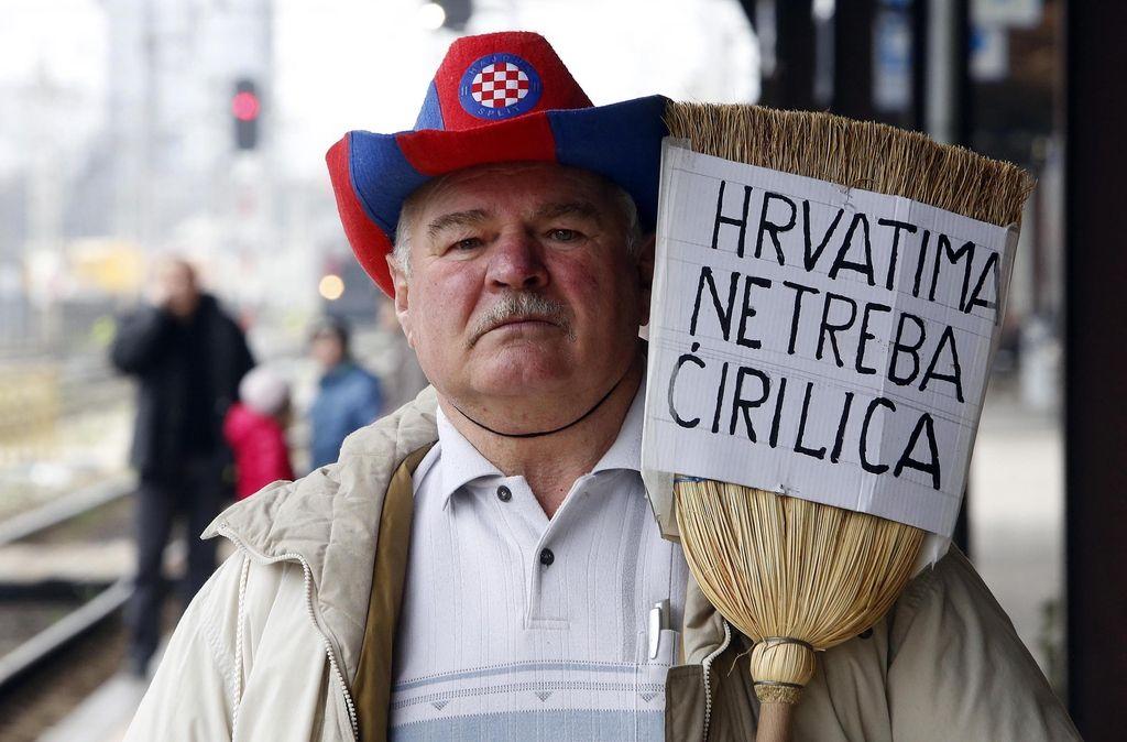 Rektor zagrebške univerze predlaga vrnitev cirilice v šole