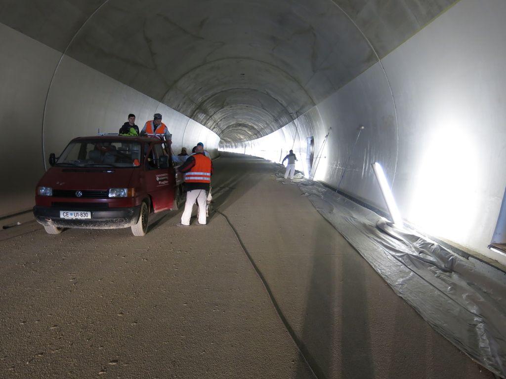 Alpine Bau ne bo dokončal predora Markovec