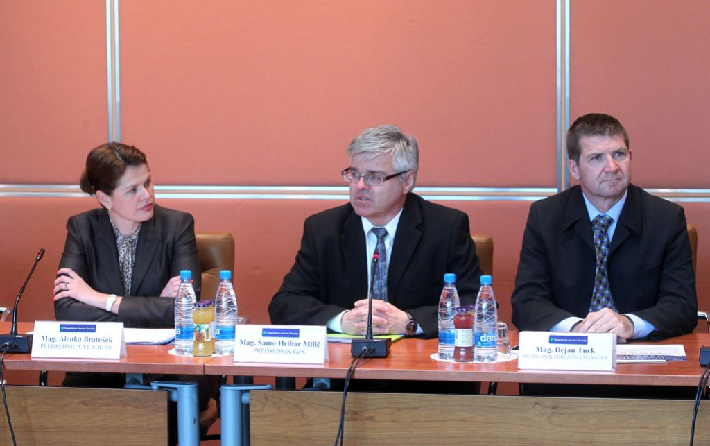 Alenka Bratušek gospodarstvenikom ni predstavila ukrepov